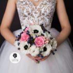 Букет невесты из холодного фарфора