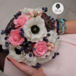 Цветы ручной работы букет