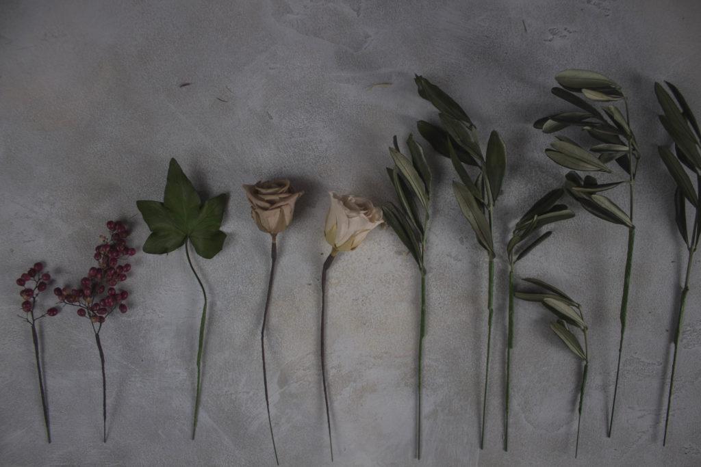 Как тейпировать стабилизированные цветы