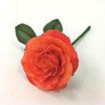 Роза из холодного фарфора (5)