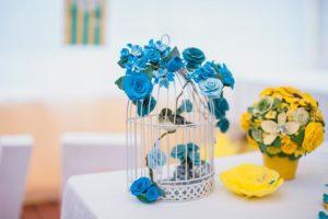 Керамическая флористика для свадьбы