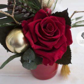 Красная стабилизированная роза