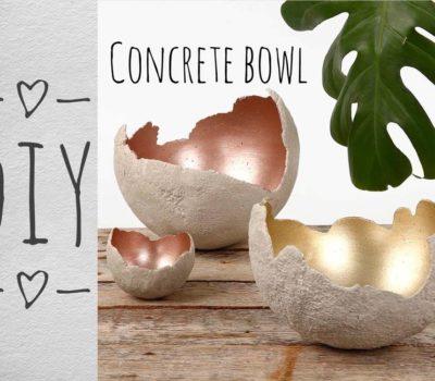 DIY или как сделать бетонное кашпо своими руками