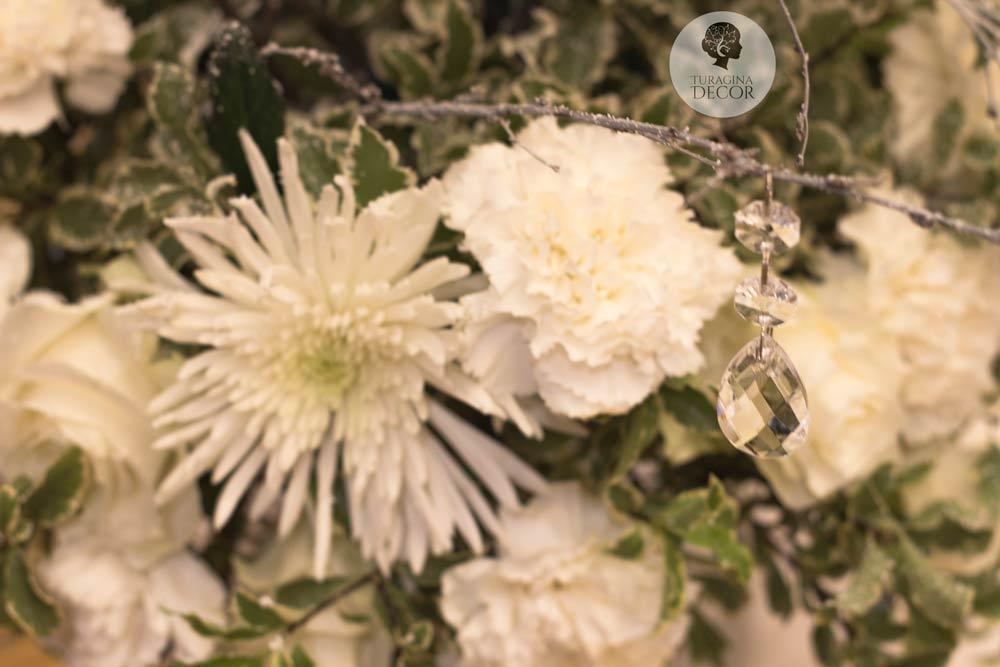 Хризантемы на свадьбе