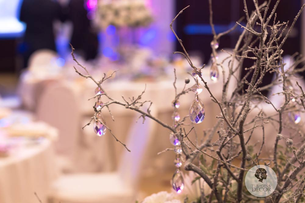 Свадьба с хрусталем