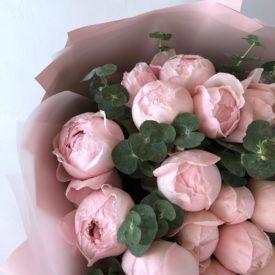 Пионовидные розы доставка Москва