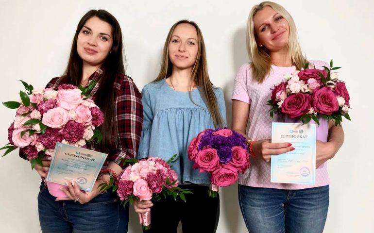 Примеры работ курсы флористики6