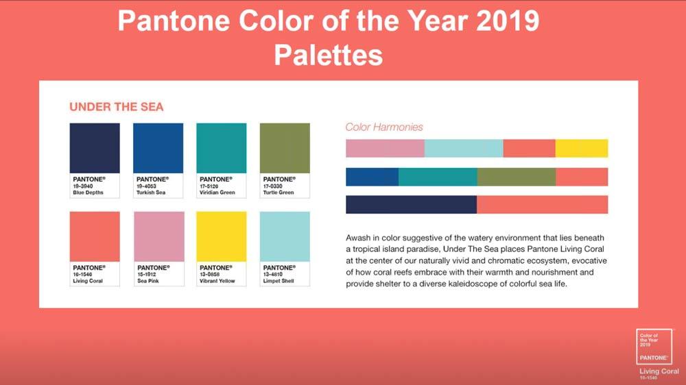Pantone 2019 с чем сочетать