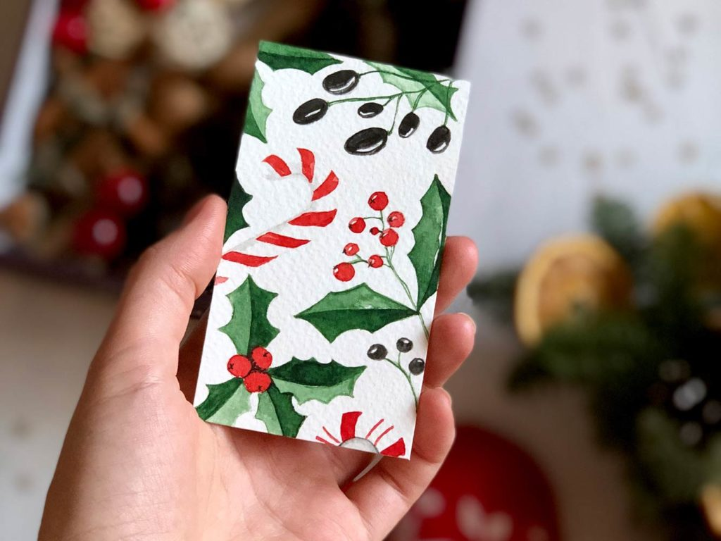 5 рождественских растений