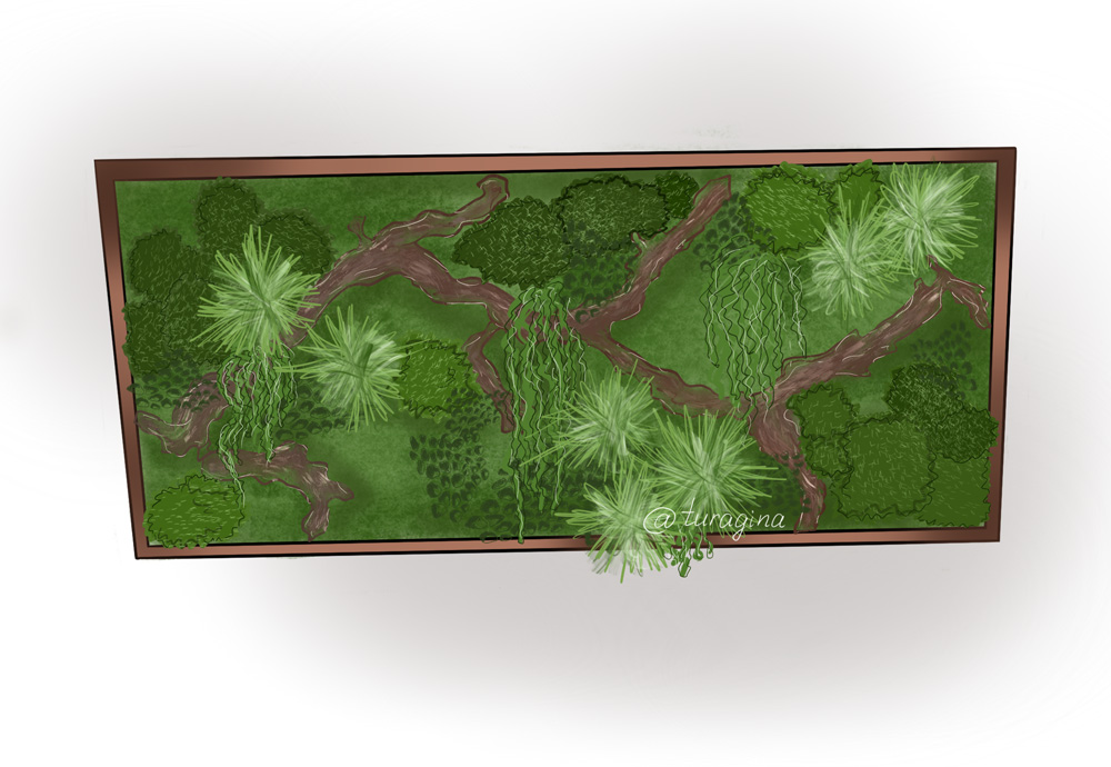 Картина-из-стабфилизированных-растений
