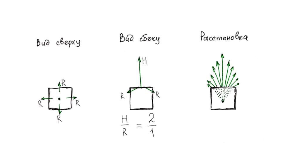 Как-поставить-цветы-в-квадратном-кашпо