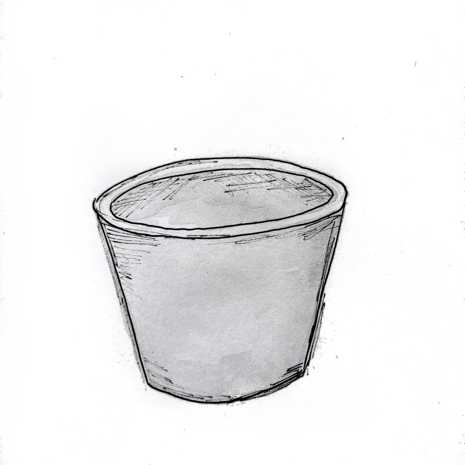 круглое-кашпо