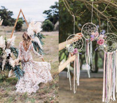 Свадьба в стиле бохо-шик | Богемная свадьба | Детали