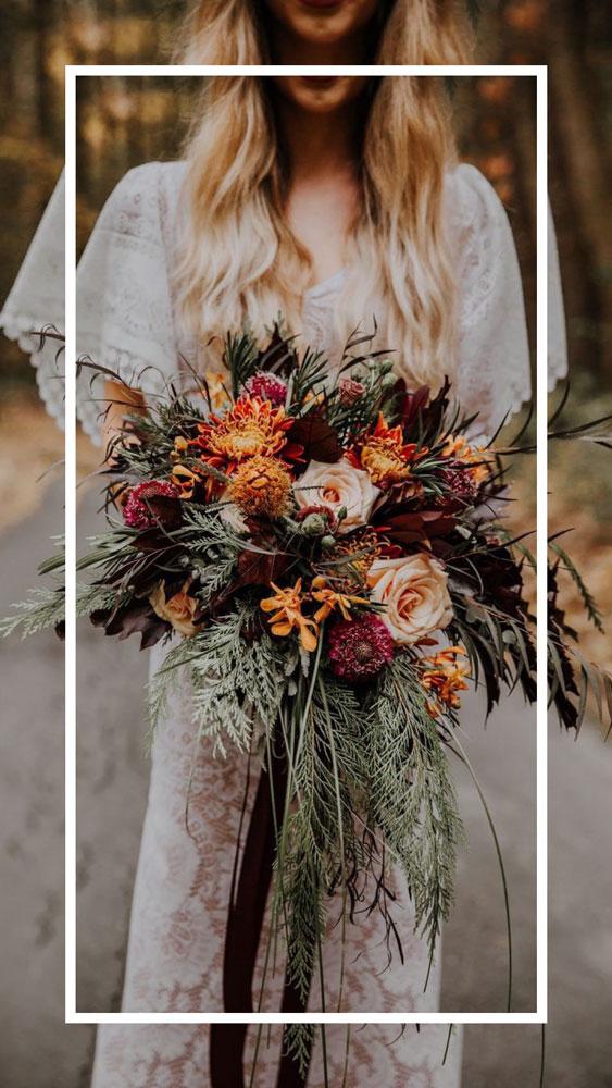Невеста богемного стиля