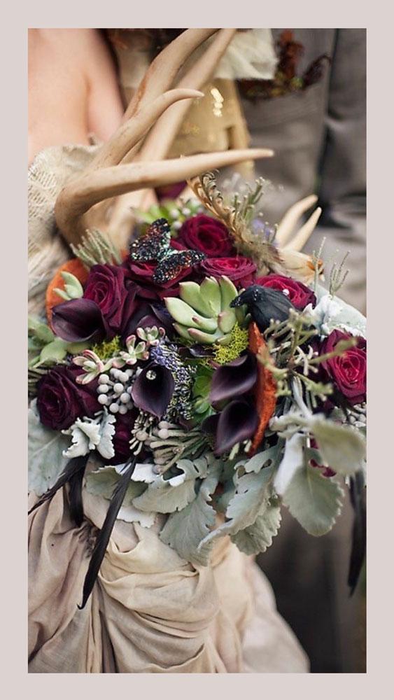 Рога свадьба Бохо