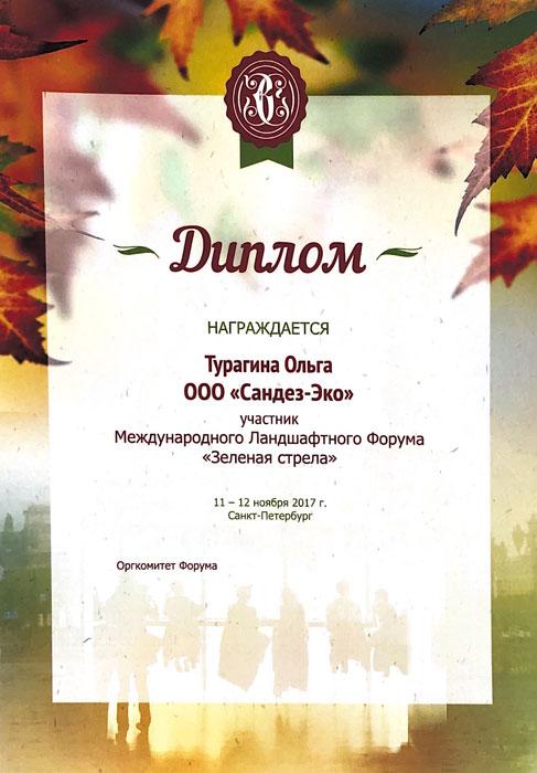 Ольга-Турагина-Сертификат-Зелёная-стрела